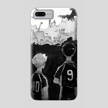 Battle at The Garbage Dump  - Phone Case by The CC