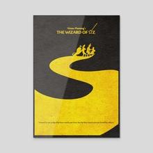 The Wizard of Oz - Acrylic by Deniz Akerman