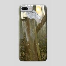 snowy owl - Phone Case by Lara Paulussen