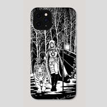 Near Death, I Meet Odessa... - Phone Case by Work of Art Studios