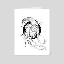 Poison - Art Card by Jesus Marquez
