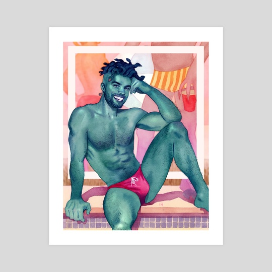 Beach Gorgon by Kevin Wada
