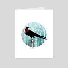 Bird of Prey - Art Card by Kate Miller