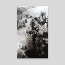 Forest V - Acrylic by Paloma Zamorano