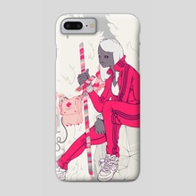 Red Mage - Phone Case by Jovo Ve
