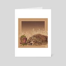 Milo - Art Card by Alguien Ilustra