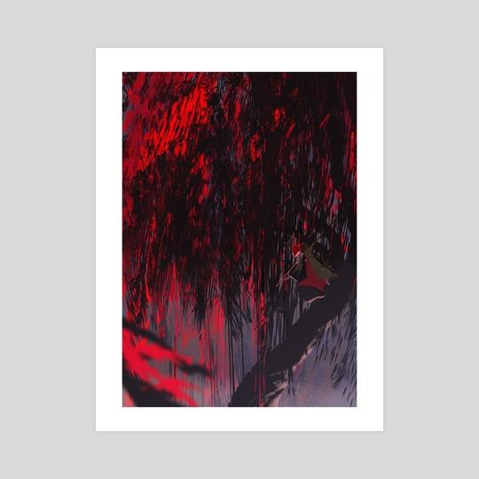 Foxfire -- Red Fox by Carolyn Gan