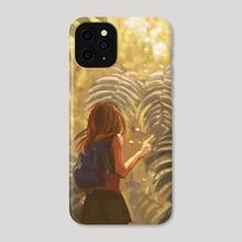 Nature Lovenote: Ferns - Phone Case by Allison Chin