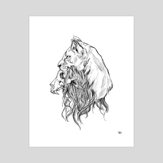 The Lion by Kate Trish
