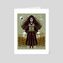 Salem - Art Card by Devin Forst