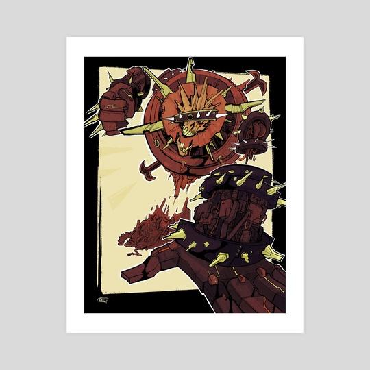 Scrap Behemoth by CJ Guilfoyle
