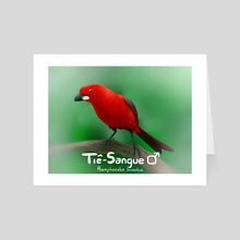 Tie-Sangue - Art Card by Lu Roli