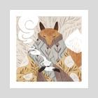 Tea Time - Art Print by Vanessa Gillings
