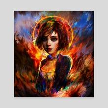 Elizabeth portrait - Canvas by Maxim G