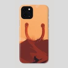 Desert Gods - II - Phone Case by Lazare Gvimradze