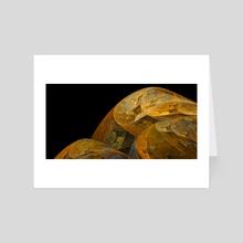 Yellow [3] - Art Card by Mitchell Flautt