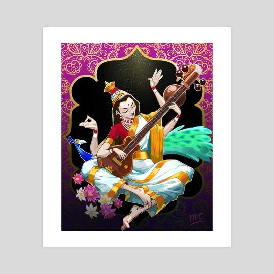Hindu Goddess by Matt Chapman