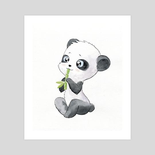 Panda by Indré Bankauskaité