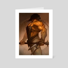 Naked Killer - Art Card by Yanmo Zhang