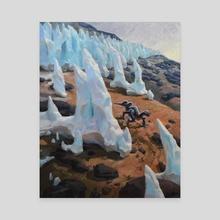 Plucker among the Penitente - Canvas by Jordan K Walker