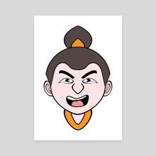 Wushu Head Type06 [phwali00] - Canvas by Richard Hu