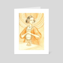 The Astronomer - Art Card by Erin McGuire