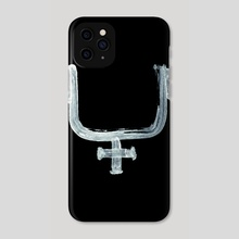 Alchemical Symbols - Cribbled Ashes Inverted - Phone Case by Wetdryvac WDV