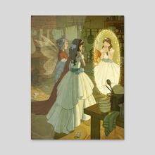 Cinderella - Acrylic by Kelley McMorris