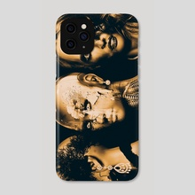 Processing in Gold - Phone Case by Magdalena Adic