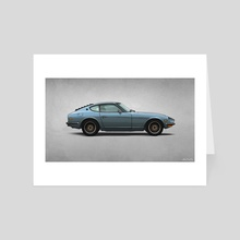 1970 Datsun 240z - Art Card by Andy McDonnell