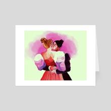 gay rights - Art Card by Hannah