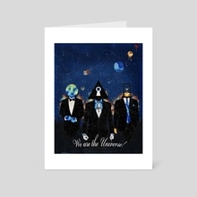 We are the Universe! - Art Card by Adrian Kotwicki