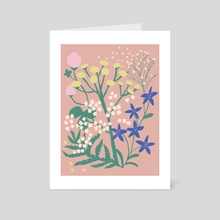 Summer Fairies - Art Card by Emmi-Riikka