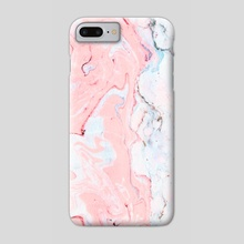 Marble Love - Phone Case by 83 Oranges