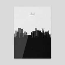 Lima - Acrylic by Deniz Akerman