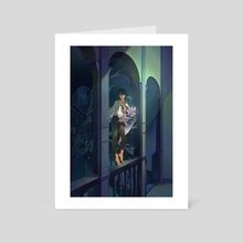 Midnight Visitor  - Art Card by gukkhwa