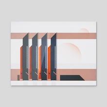 solar alpha - Acrylic by drewmadestuff