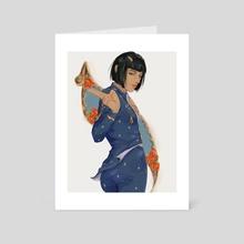 blucciarati - Art Card by Nyorari