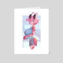 Kana Gym Uniform - Art Card by Gloss Art