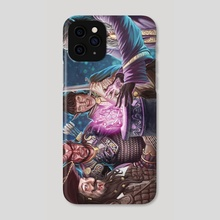 Finding the Illithid Stone - Phone Case by Lucas Durham