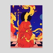 Astrogod - Canvas by Matheus Lopes