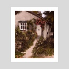 Cottage - Art Print by jas sparks
