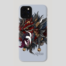 Boar - Durgangsa - Phone Case by Andreas Kurniawan