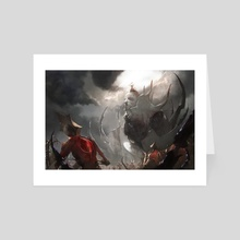 Worship the Infection - Art Card by Chun Lo