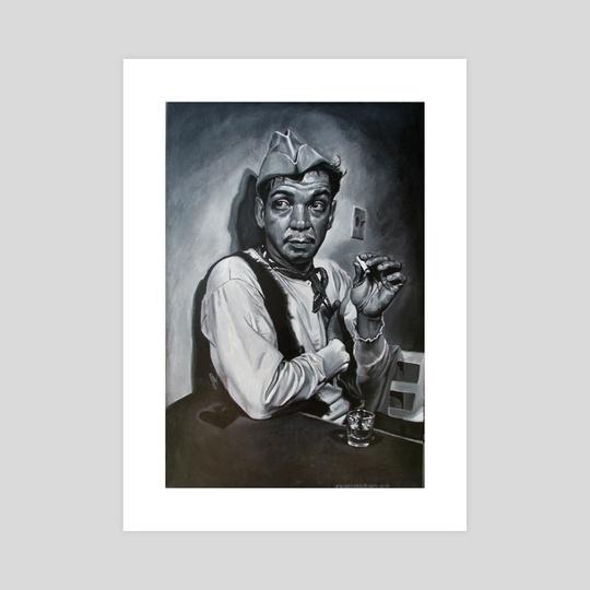 """Mario Moreno """"Cantinflas"""" by Francois Shogreen"""