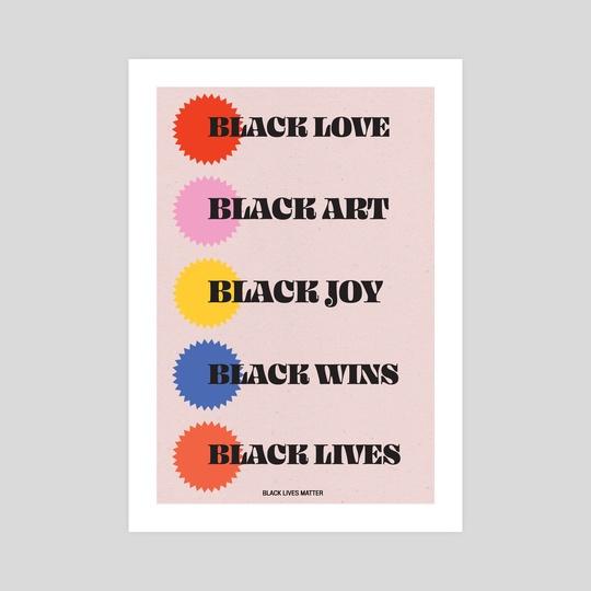 Black Everything by Kenneth Thomas