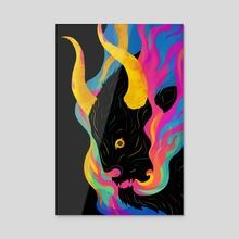 MINOTAUR - Acrylic by Carly A-F