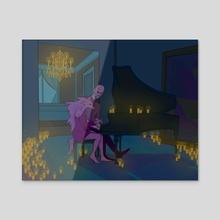 candlelight  - Acrylic by atremu