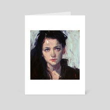 In Black - Art Card by John Larriva