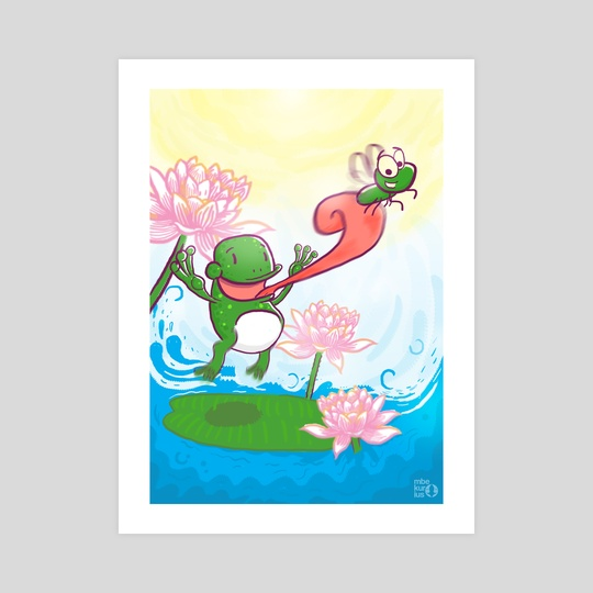 The Frog & Fly by Muhammad Syafe'i